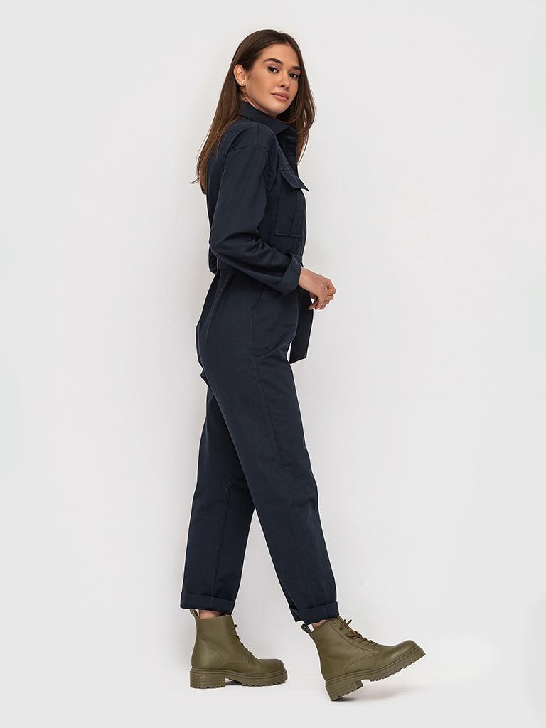 Комбинезон темно-синий YOS от украинского бренда Your Own Style