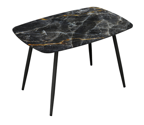 Стол Оникс мрамор черный