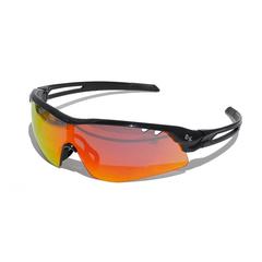 Очки солнцезащитные 2K S-15002-G  (чёрный глянец / оранжевые revo)