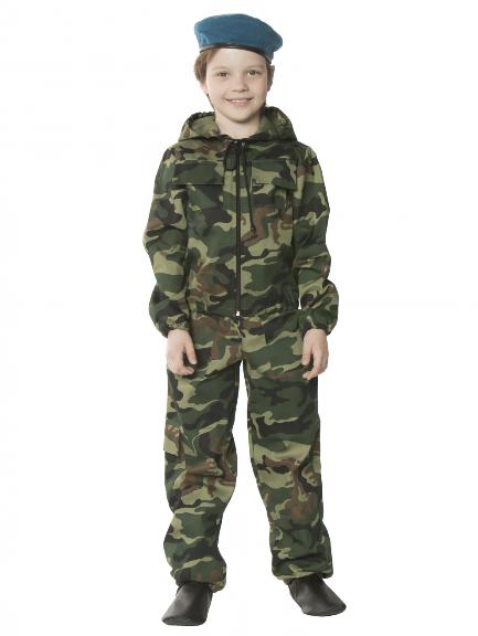 Детский костюм десантника для мальчика