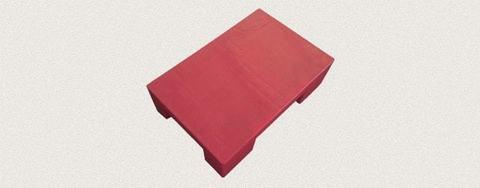 Поддон пластиковый 600x400x150 мм. Цвет: Красный