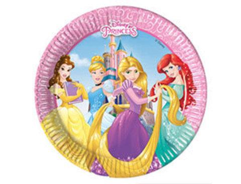 Тарелка Принцессы Герои 20см 8шт