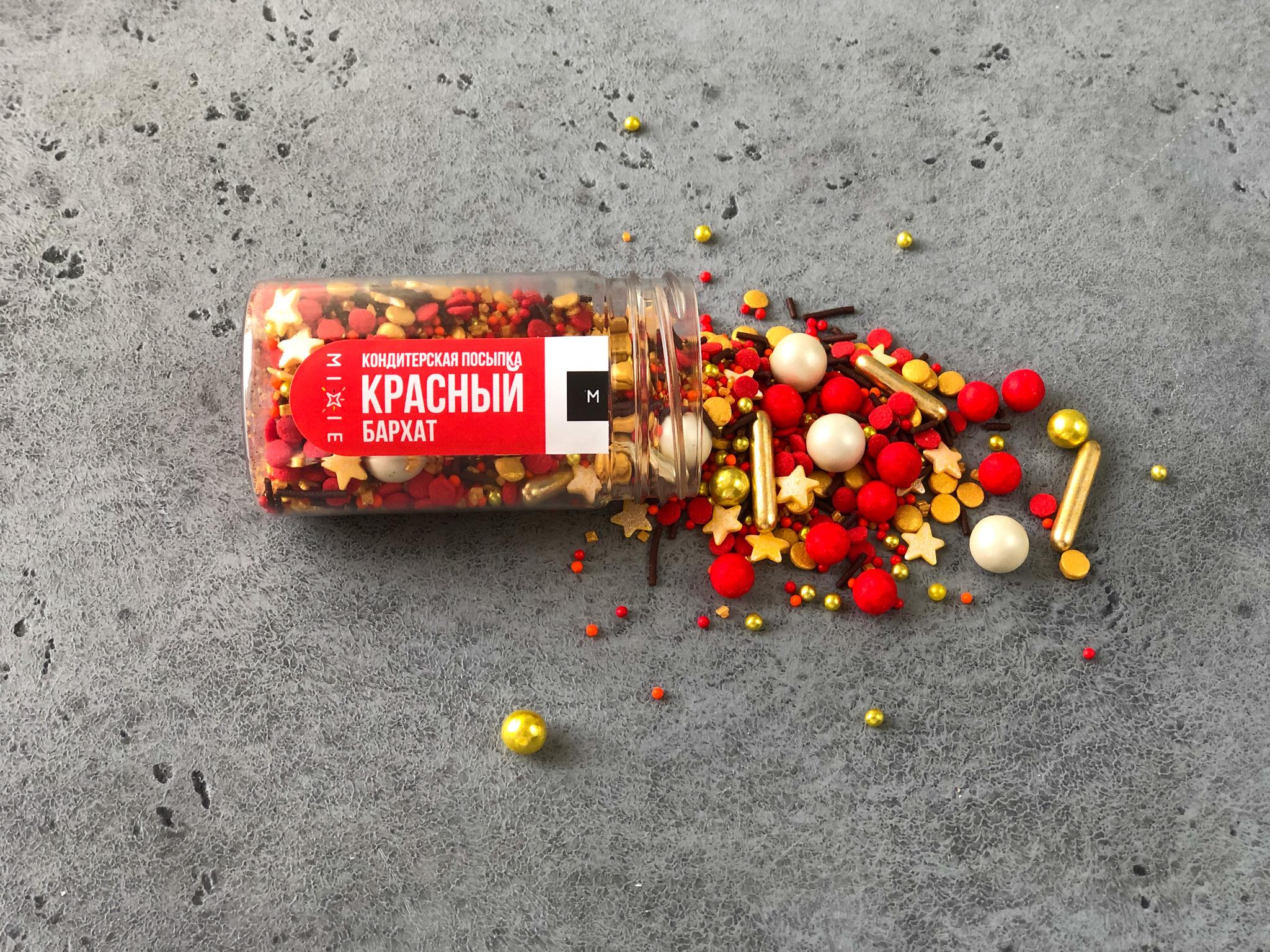 Посыпка «Красный бархат», 50 гр