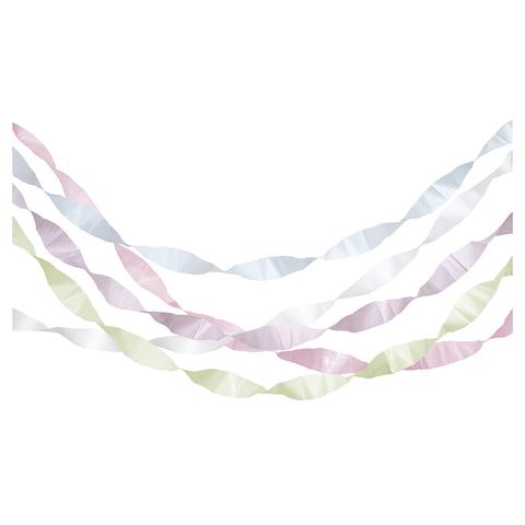 Гирлянда-серпантин, пастельная (в наборе 5 шт)