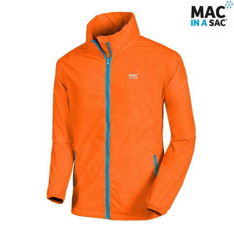 Куртка Mac in a Sac Unisex Neon Orange