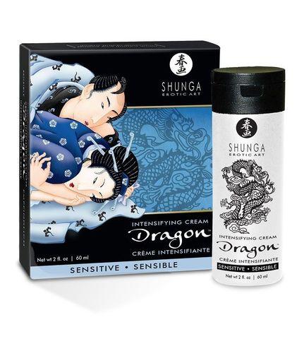 Интимный мужской крем SHUNGA DRAGON SENSITIVE - 60 мл.