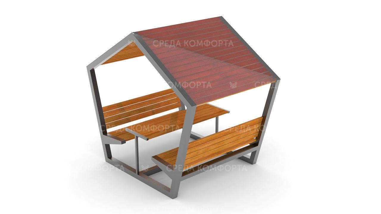 Скамейка с навесом SCAM0110
