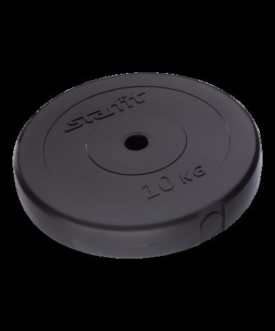 Диск пластиковый BB-203, d=26 мм, черный, 10 кг