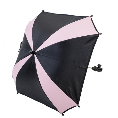 AL7003 AltabebeЗонтик для коляски (Black/Rose)