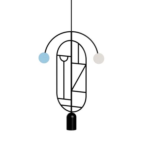 Подвесной светильник копия Lines & Dots LD07 by Home Adventures