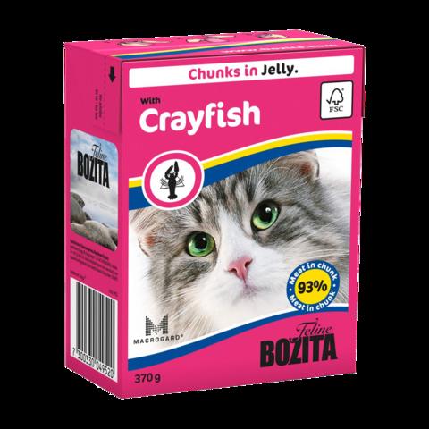 Bozita Консервы для кошек с лангустом (кусочки в желе)