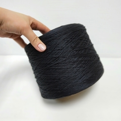 FB Silk, Seta, Шёлк 100%, Черный, 2/60x12, 250 м в 100 г