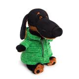Пес Ваксон в зеленой куртке