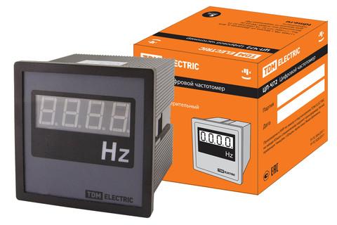 Цифровой частотомер ЦП-Ч72 30-100Гц-0,5-Р TDM