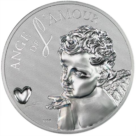 1000 франков. Ангел любви. Камерун. 2010 год