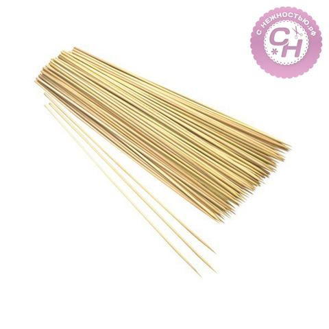 Бамбуковые палочки шпажки для декора, 30 см, 80-90 шт.