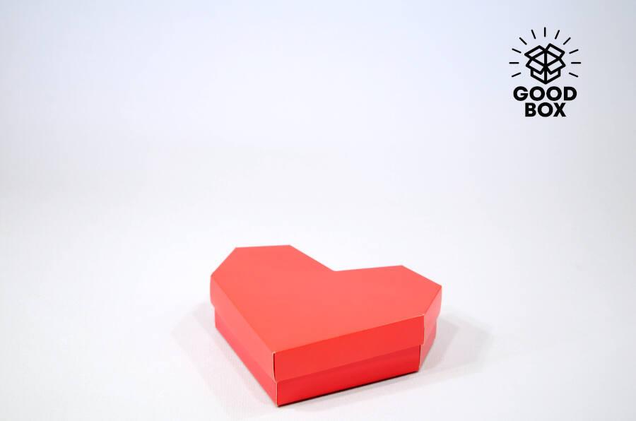 Подарочная коробка в форме сердца купить в Казахстане