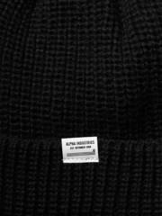 Шапка Alpha Industries Essential Watch Cap Black (Черная)
