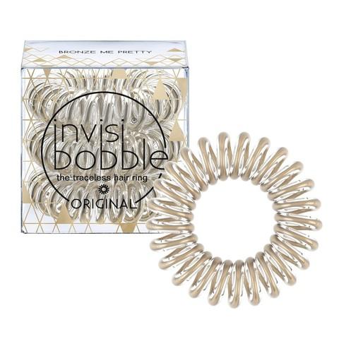 Резинка-браслет для волос invisibobble Time To Shine Bronze Me Pretty