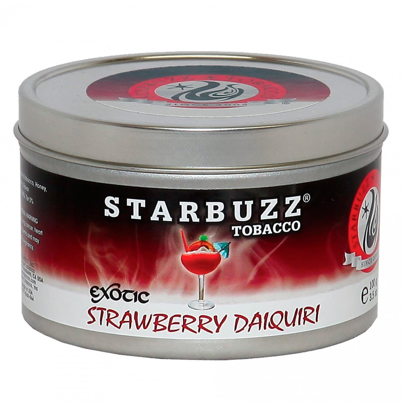 Табак для кальяна Starbuzz Strawberry Daiquiri 250 гр.