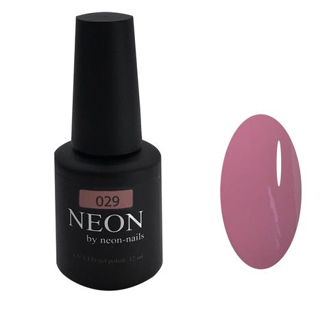NEON, гель-лак Dusty rose № 029 , (12 ml) пыльный розовый