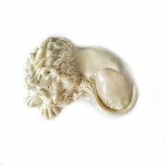 0005 Молд силиконовый. Лев спящий.