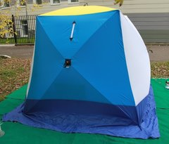 Палатка для зимней рыбалки Стэк Куб-2 трехслойная