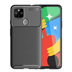 Силиконовый ударопрочный чехол Yuetao для Google Pixel 5 (Черный)