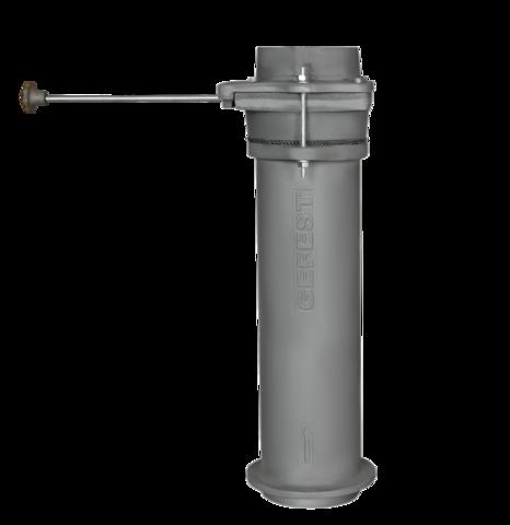 Чугунный шиберный модуль 130/500