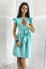 Паула. Красивое платье с пышной юбкой. Мята