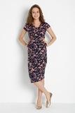 Платье для беременных и кормящих 08457 цветы