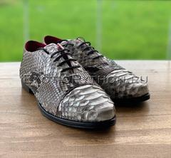 Мужские туфли из кожи питона SH-126