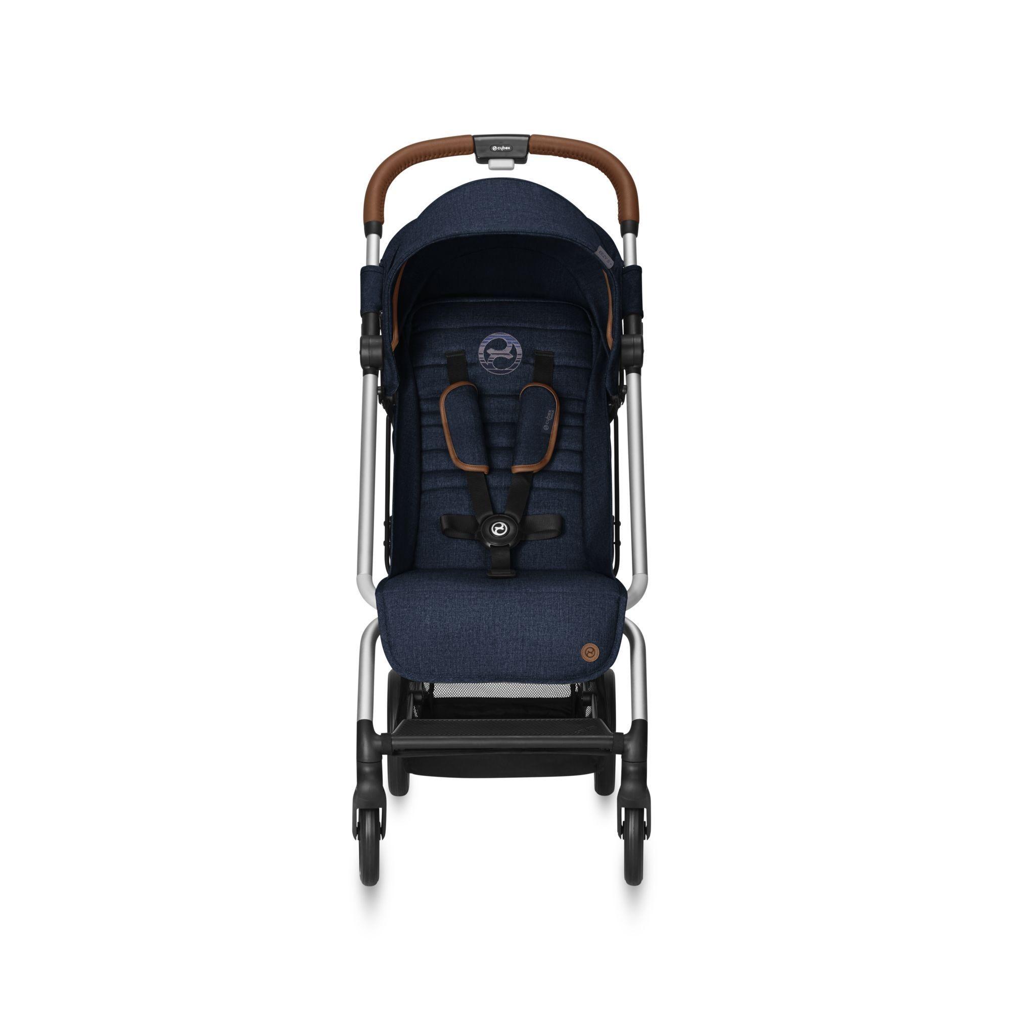 Прогулочная коляска Cybex Eezy S Plus DENIM Denim Blue