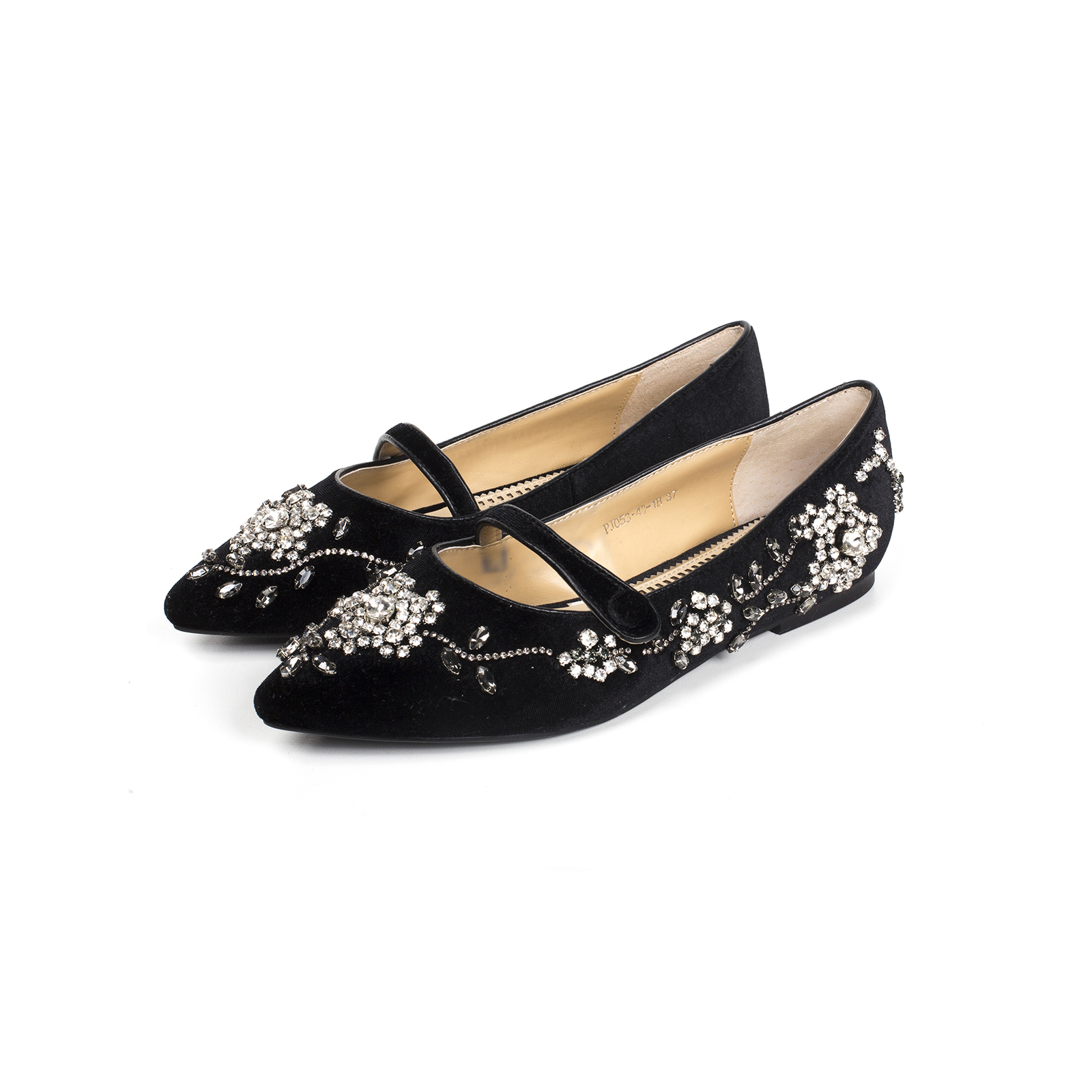 Туфли, Ballerina, Mary Jane (черный)