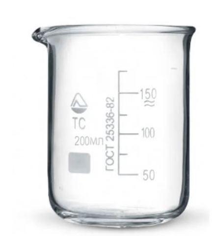 Стакан мерный стеклянный 150 мл