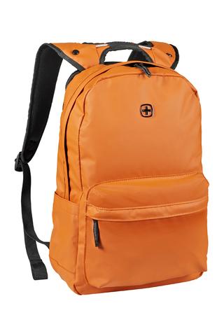 Городской рюкзак с водоотталкивающим покрытием оранжевый (18 л) WENGER Photon 605095