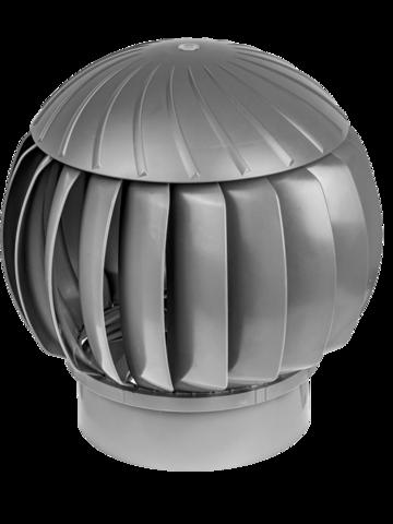 Турбина ротационная ERA RRTV D160 Gray, (Нанодефлектор), вентиляционная, пластик