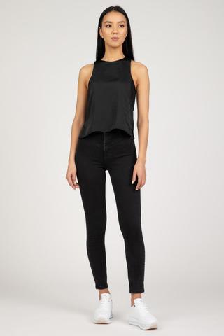 Женская блузка Calvin Klein SATIN 2IN1 TANK TOP