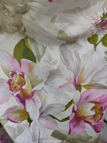Блэкаут цветы розовые. Арт. КL-11-04