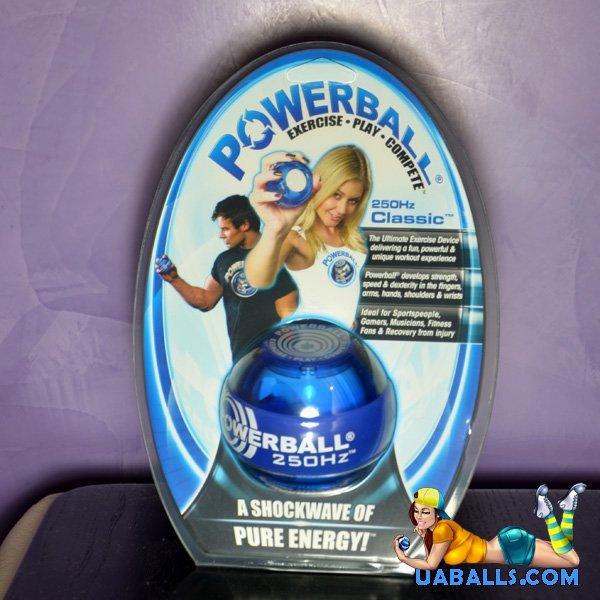 powerball 250hz classic blue упаковка