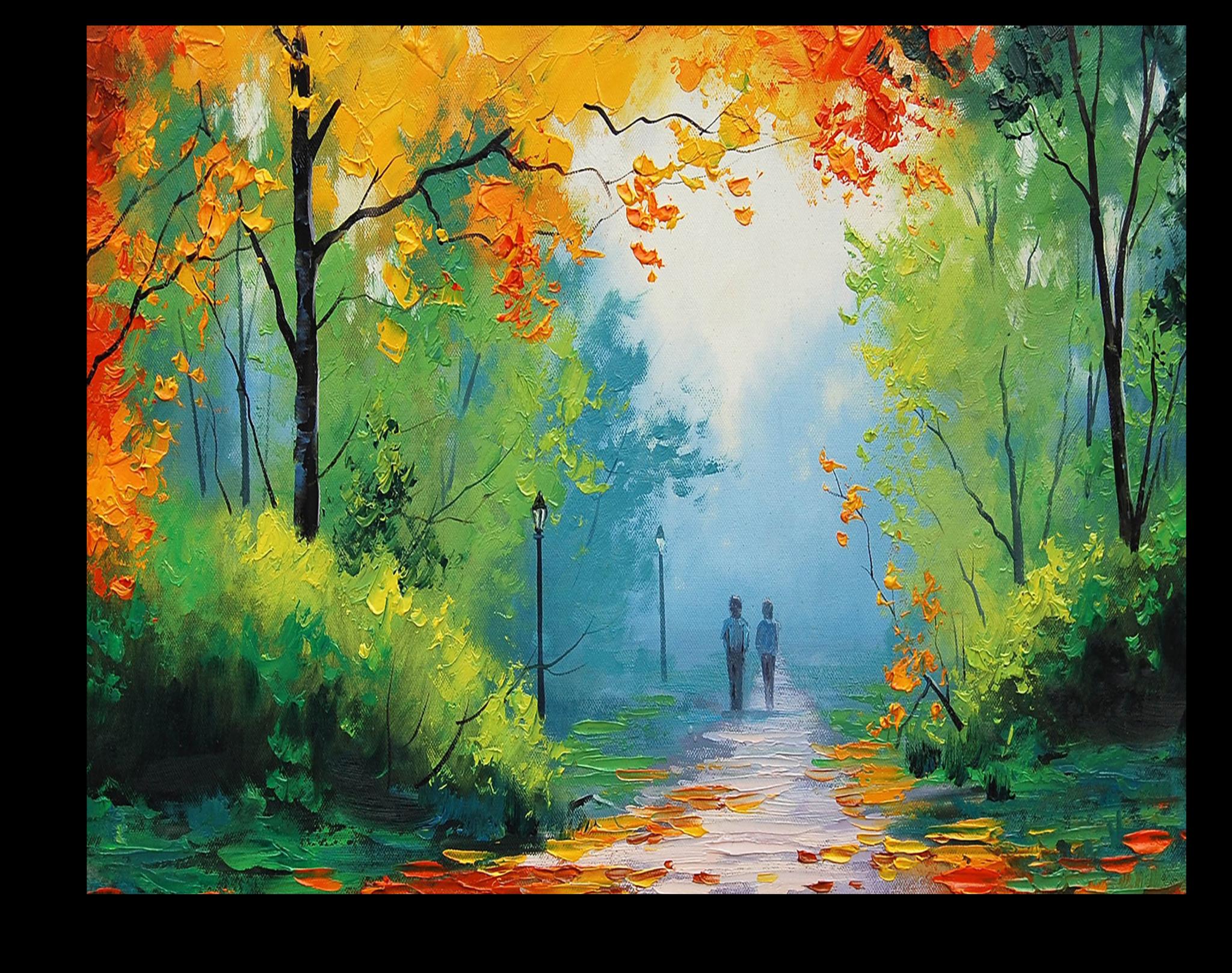"""Постеры Постер """"Золотистые листья"""" п285.png"""