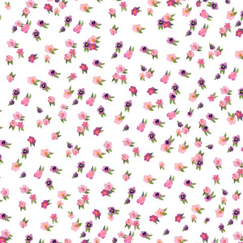 Маленькие розовые цветочки