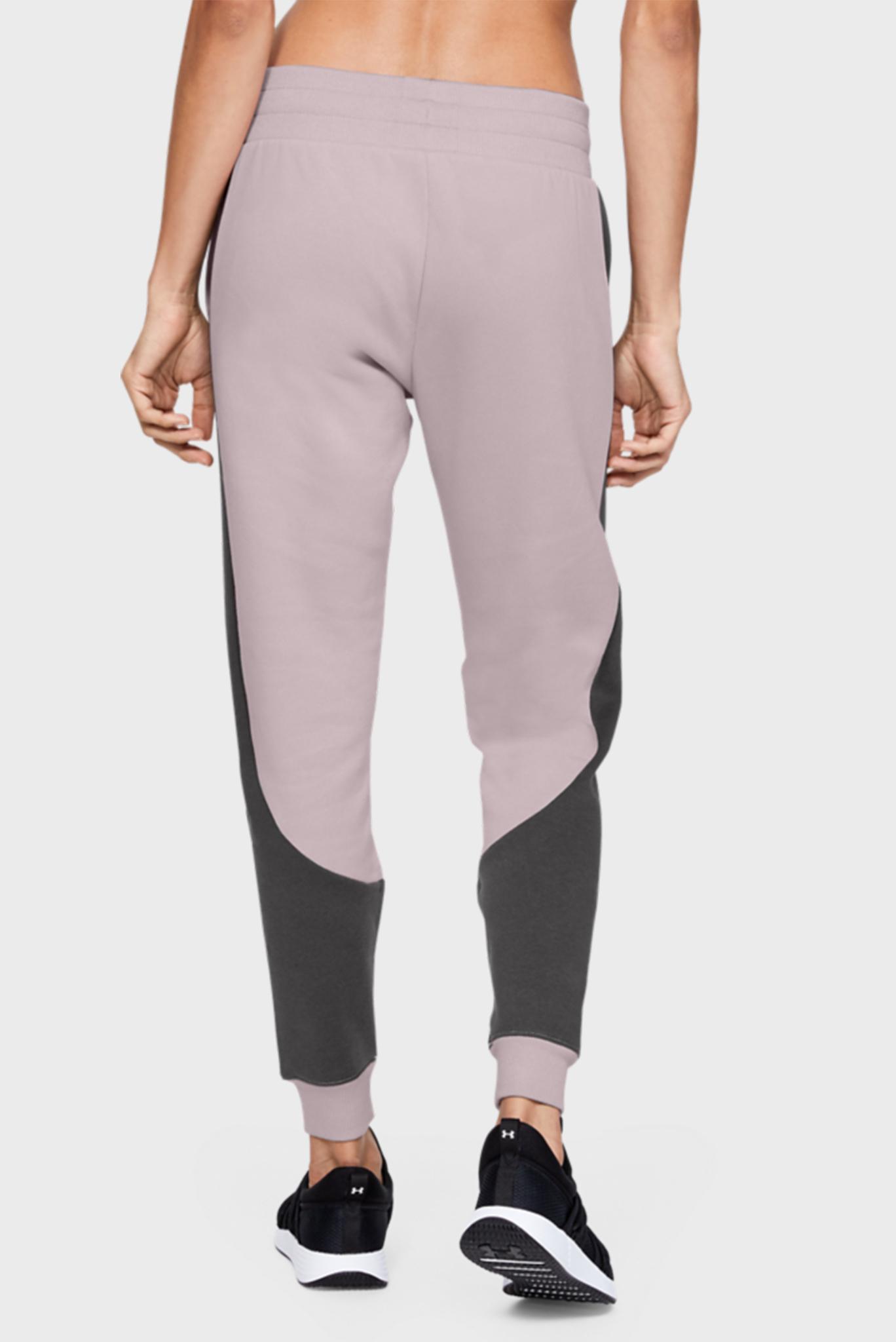 Женские розовые спортивные брюки Rival Fleece Fashion Jogger Under Armour