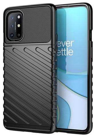 Черный противоударный чехол на смартфон OnePlus 8T, серия Onyx от Caseport