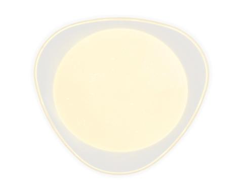 Светильник Потолочный Светодиодный Ambrella FF44 WH 48W Белый с Пультом
