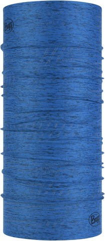Бандана-труба летняя светоотражающая Buff CoolNet Reflective Azure Blue Htr фото 1
