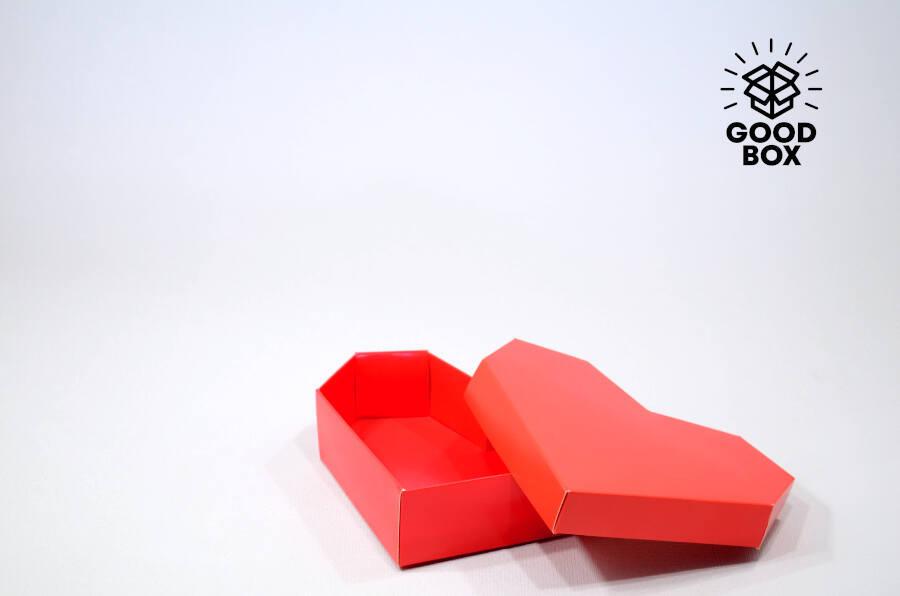 Подарочная коробка в форме сердца купить в Алматы