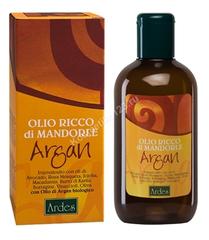 Ardes Масло обогащенное миндалем и Арганом (Olio Ricco di mandorle Argan), 250 мл