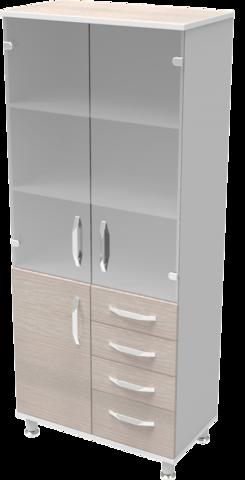 Шкаф медицинский общего назначения 2.02 тип 1 АйВуд Medical Office - фото