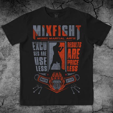 Купить хлопковую футболку Mix Fight для пауэрлифтинга, для зала, фитнеса, стиль жизни